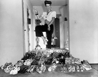carmen miranda, shoes