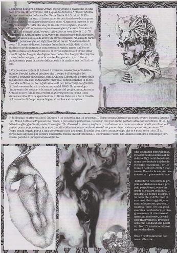 Fanzine Unknown Pleasures numero zero, Corpi Senza Organi, grafiche Francesca de Paolis, 3