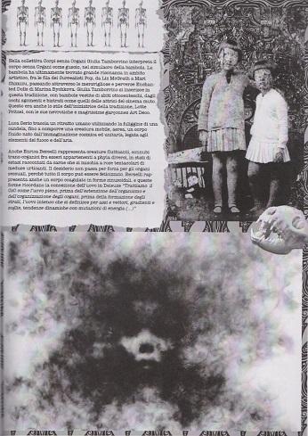 Fanzine Unknown Pleasures numero zero, Corpi Senza Organi, grafiche Francesca de Paolis, 4