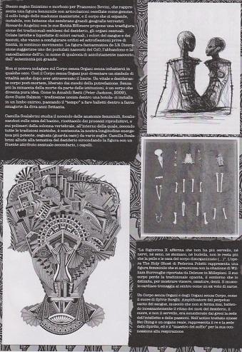Fanzine Unknown Pleasures numero zero, Corpi Senza Organi, grafiche Francesca de Paolis, 5