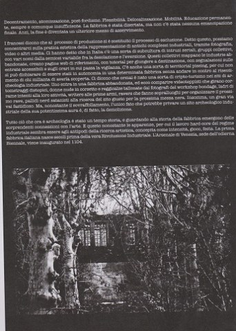 Fanzine Unknown Pleasures numero zero, Post-industrial, grafiche Francesca de Paolis 2