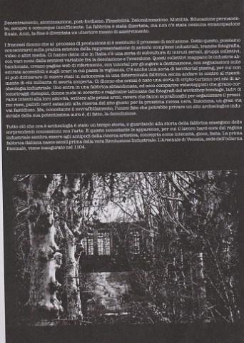 Fanzine Unknown Pleasures numero zero, Post-industrial, grafiche Francesca de Paolis 2