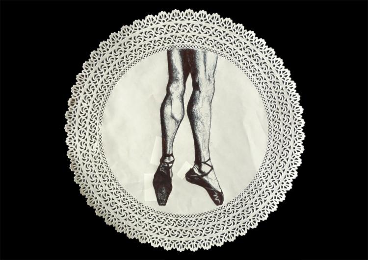 stella (Stefania Gagliano), Dance Mapplethorpe, tecnica mista, 2013