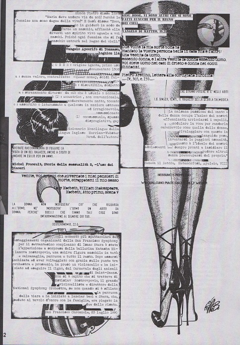 Fanzine Unknown Pleasures, numero 1, Difettata, grafiche Valentina Mangieri, direz.art.LST, 2
