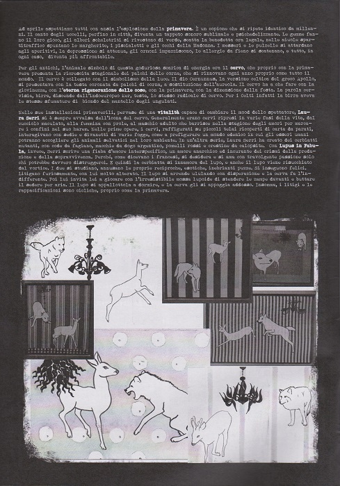 Fanzine Unknown Pleasures, numero 1, Lupus in Fabula, grafiche Valentina Mangieri, direz.art.LST.2
