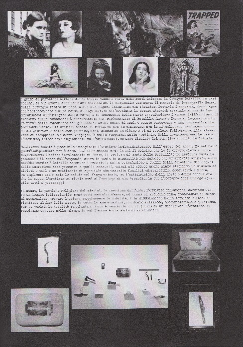Fanzine Unknown Pleasures, numero 1, Love kills, grafiche Valentina Mangieri, direz.art.LST, 3