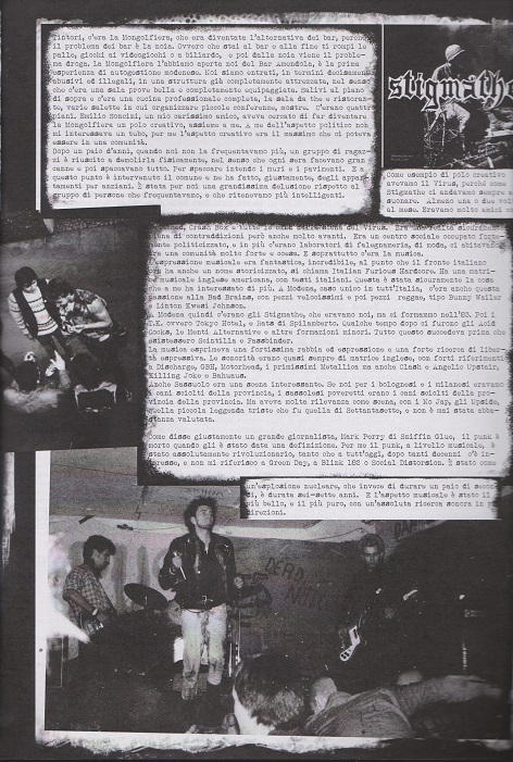 Fanzine Unknown Pleasures numero uno, Tu Quoque Punk - Fabrizio, grafiche Valentina Mangieri, direz.artistica LST
