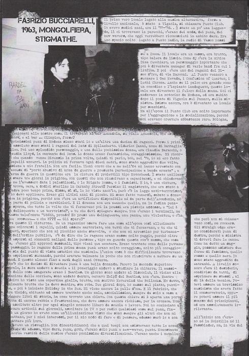 Fanzine Unknown Pleasures numero uno, Tu Quoque Punk - Fabrizio1, grafiche Valentina Mangieri, direz.artistica LST