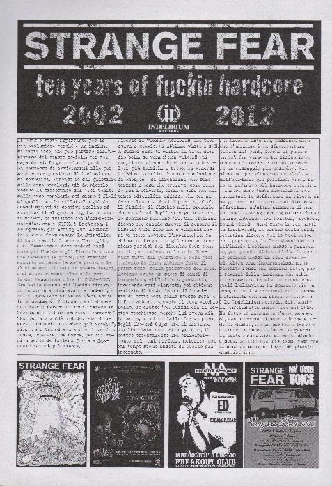 Fanzine Unknown Pleasures numero uno, Tu Quoque Punk - GuidoStrangeFear, grafiche Valentina Mangieri, direz.artistica LST