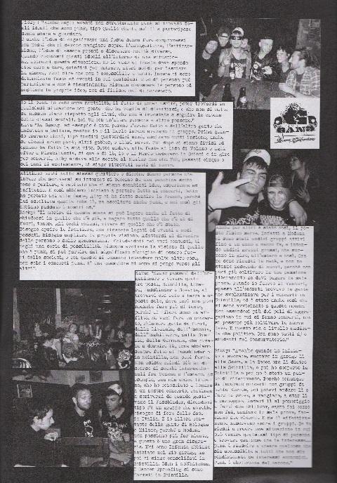 Fanzine Unknown Pleasures numero uno, Tu Quoque Punk - Kava&Ricky, grafiche Valentina Mangieri, direz.artistica LST.2