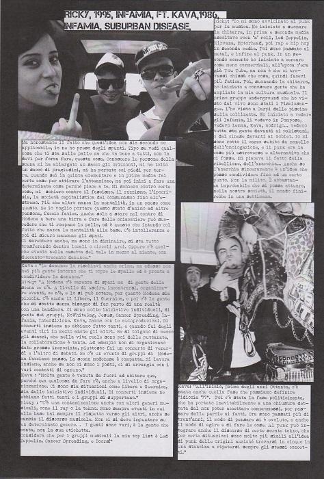 Fanzine Unknown Pleasures numero uno, Tu Quoque Punk - Kava&Ricky, grafiche Valentina Mangieri, direz.artistica LST