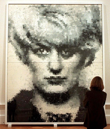 MArcus Harvey, Myra Hindley