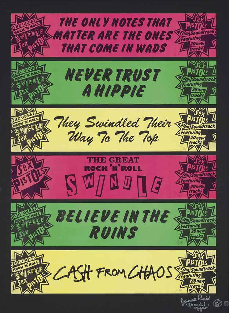 Jamie Reid, Never trust a hippie