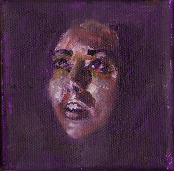 Emanuele Puzziello, Stato di alterazione, acrilico su tela, 10x10, 2012 (37)