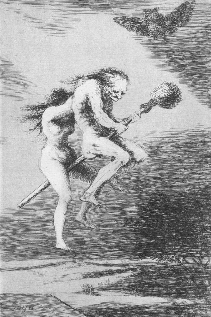 Francisco De Goya Y Lucientes, Linda Maestra! Los Caprichos n. 68, 1799