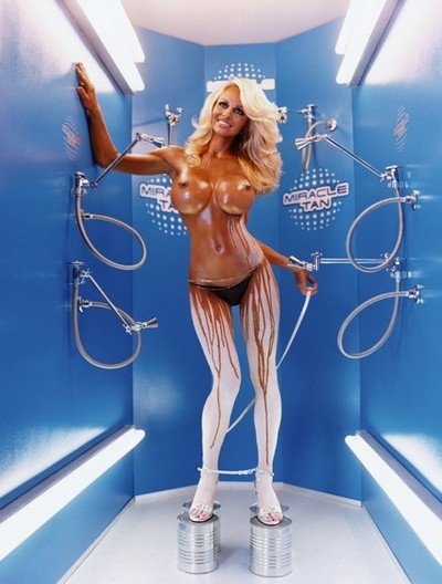 David LaChapelle miracle-tan-pamela-anderson