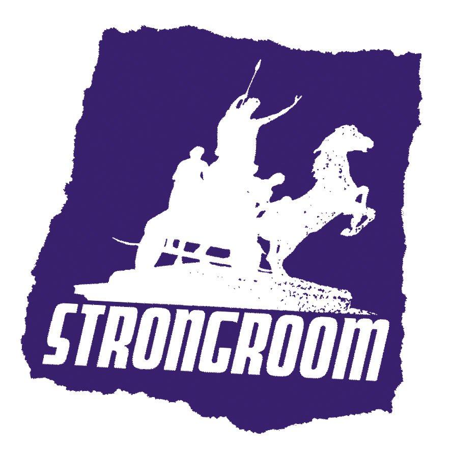 Jamie Reid, strongroom Logo