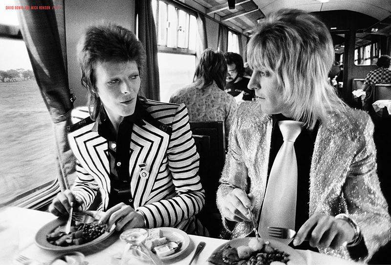 Mick Rock, Bowie e Ronson