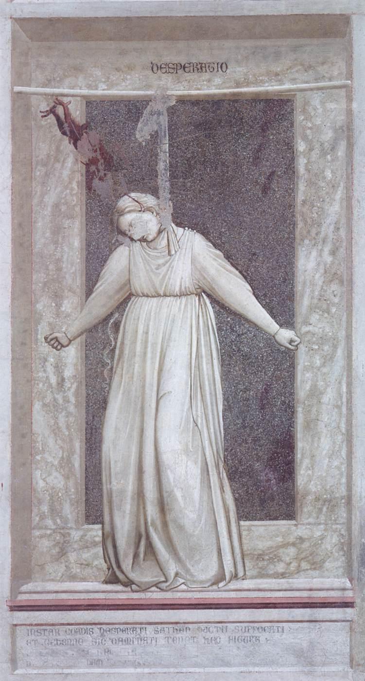 GIOTTO, disperazione, 1306