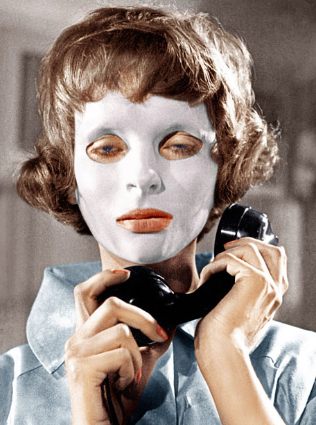 EYES WITHOUT A FACE, (aka LES YEUX SANS VISAGE), Edith Scob, 1960