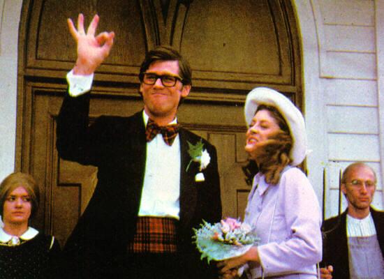 brad e janet, matrimonio