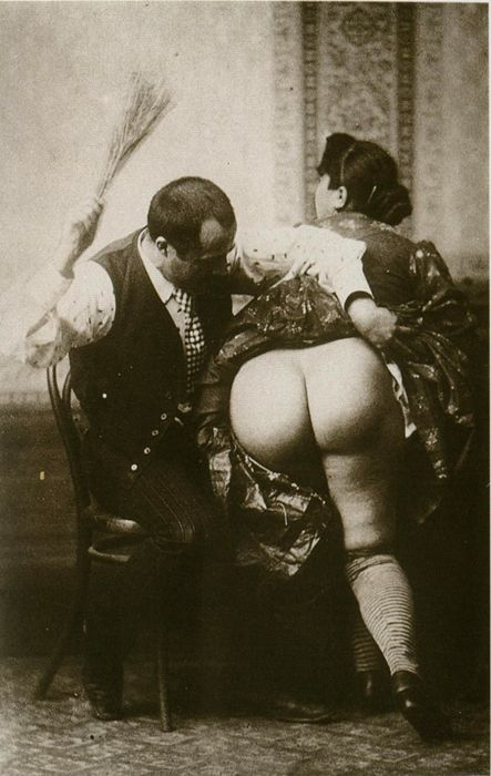 vintage spanking, via tuesday-johnson tumblr