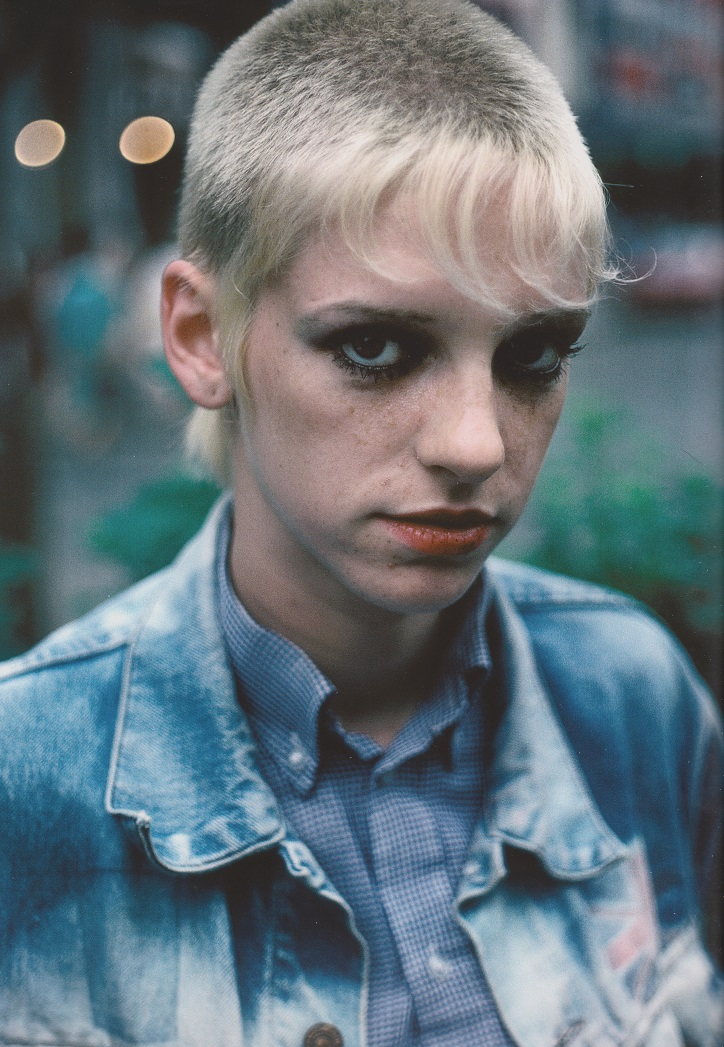 Derek Ridgers' London Youth, Leicester Square, 1982