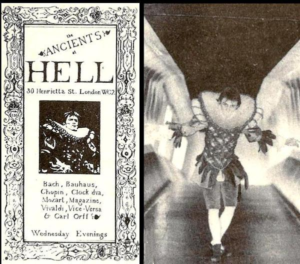 hell flyer via the blitz kids