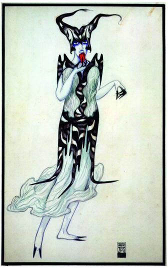 Alberto Martini, Gelosia, 1919-20