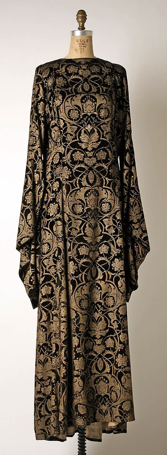 Dress (Tea Gown) Mariano Fortuny , 1930