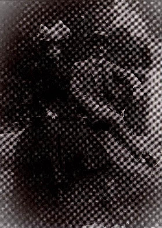 Luisa Casati e Camillo Casati 1900 circa