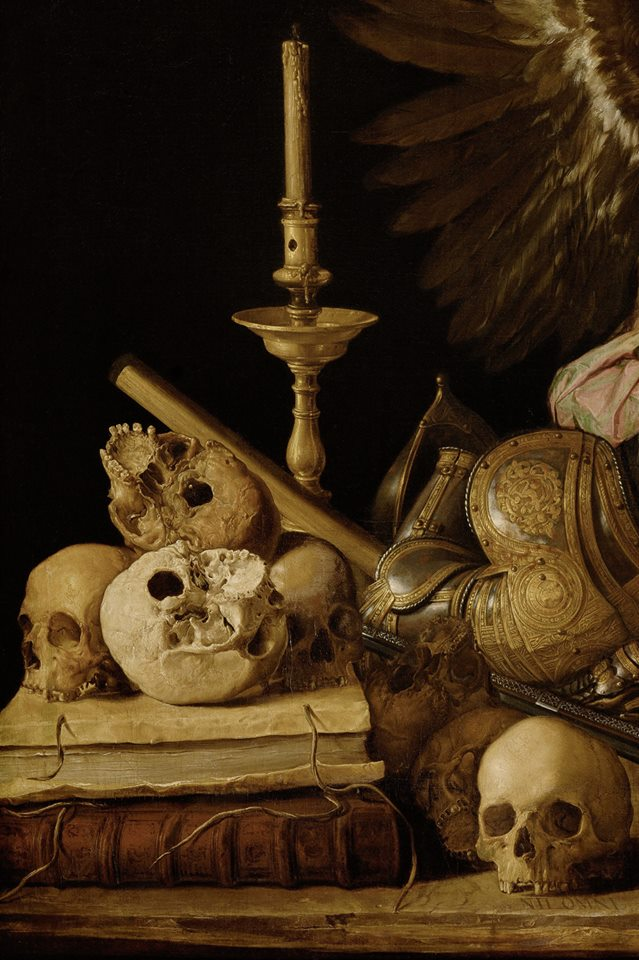 Allegory of Vanity, ca. 1632-36 ~ by Antonio de Pereda…
