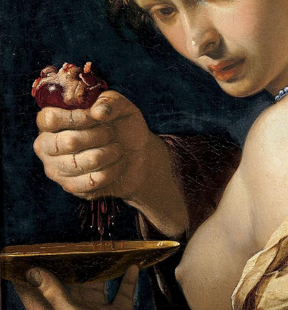 Bernardino Mei Ghismonda with the heart of Guiscardo