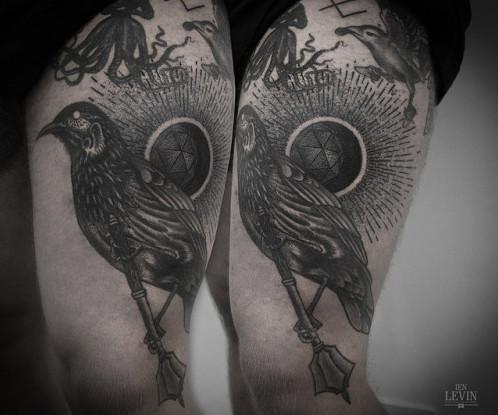ien levin crow