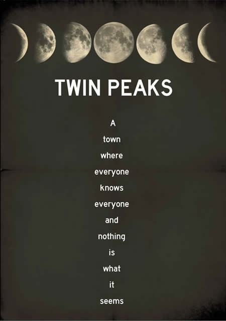 Twin peaks poster by Terror Factory