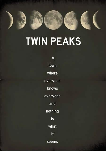 Twin peaks poster by Terror Factory