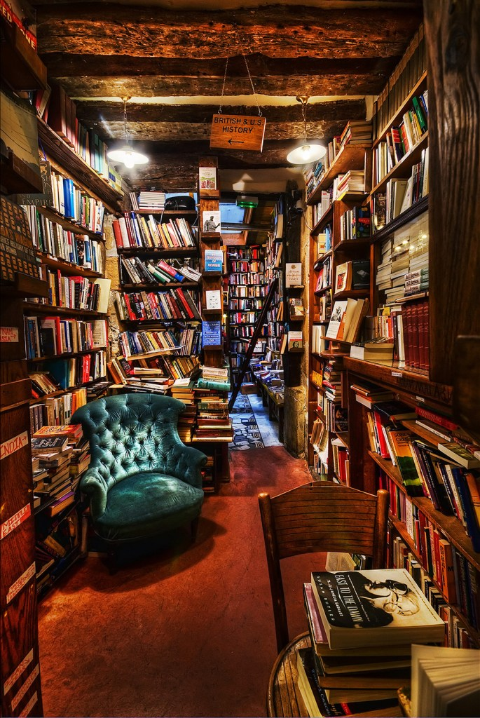 Shakespeare and Company in Paris, via buzzfeed