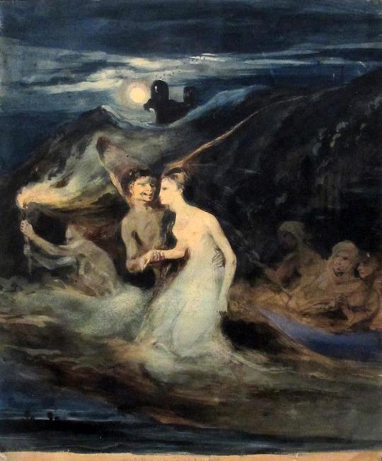 louis boulanger, Les Fantômes, 1829