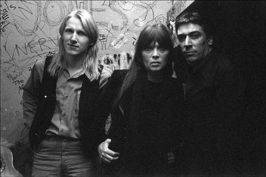 PHOTO BY ANTOINE GIACOMONI. LUTZ ULBRICH, NICO & JOHN CALE CBGB, 1979 PHOTO BY ALLAN TANNENBAUM