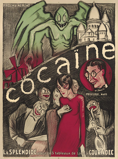 'Cocaine,' a 1923 French musical, takes place in Montmartre beneath the specter of madness.