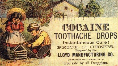 3_drugs.cocainedrops pastiglie di cocaina contro il mal di denti per bambini