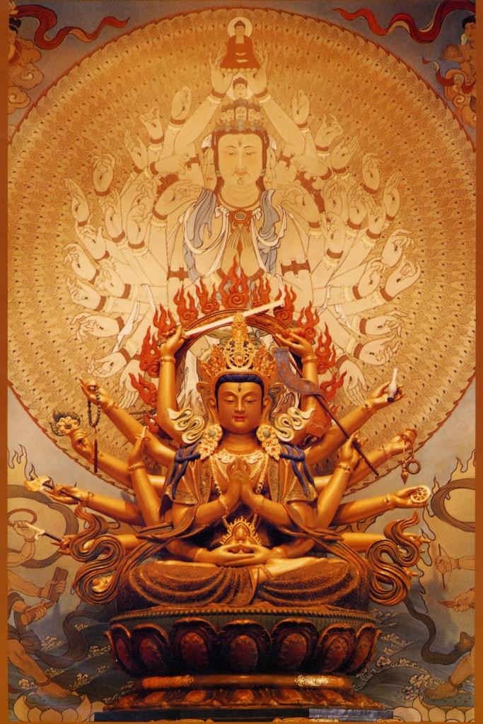 boddhisatva 18 arms