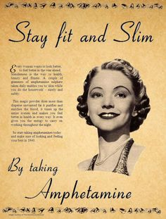 stay slim with amphetamine