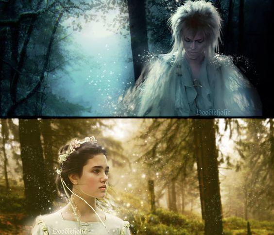 Labyrinth Jareth e Sarah