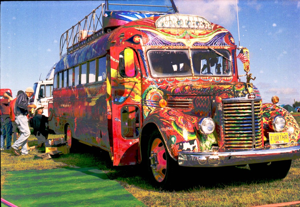 ken kesey further bus