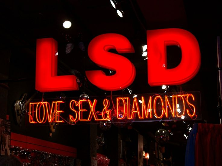 lsd love sex and diamonds