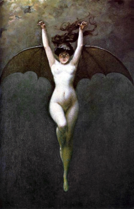 Albert-Joseph Pénot- Bat-Woman, 1890