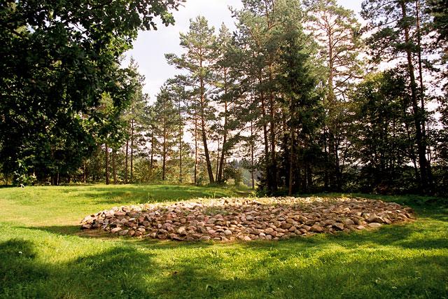 kurgan Cmentarzysko_Jacwingow,_Suwalszczyzna,_Aug_2004_B