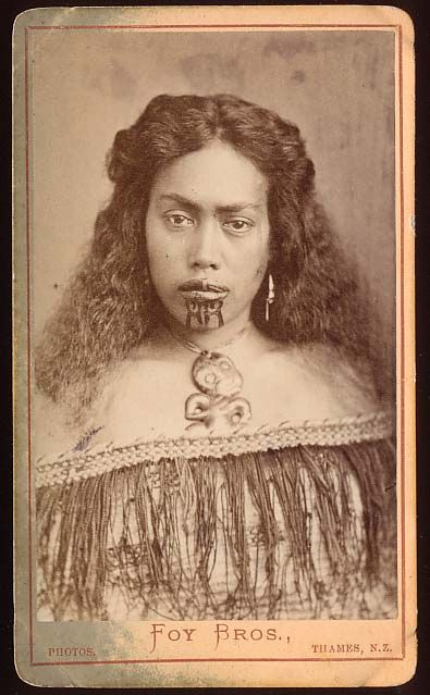 Young Maori Woman (New Zealander), c. 1872-86
