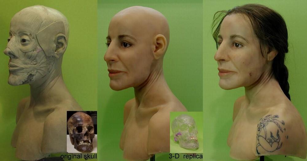 ricostruzione facciale ukok